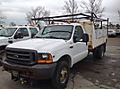 1999 Ford F350 4x4 Flatbed Truck
