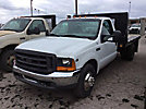 1999 Ford F350 Flatbed Truck