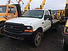 1999 Ford F450 4x4 Flatbed Truck
