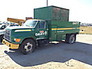 1999 Ford F800 Dump Chipper Truck
