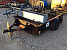 1999 Homemade Utility Material Trailer, need to scrap