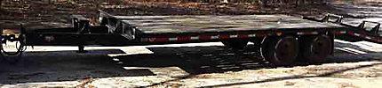 1999 Hudson HTD18C T/A Tagalong Trailer