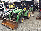 1999 John Deere 4200 Mini Tractor Loader Backhoe
