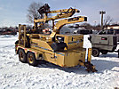1999 Vermeer BC2000 Chipper ( 20 Drum), T/A trailer mtd & 2 hyd outriggers