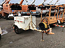 19__ Coleman MH4000RDKN, 4000 watt Portable Light Plant, s/n RD3474, Kubota diesel, trailer mtd (Reads 1197 Hours)