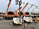 19__ Coleman MH4000RDKN, 4000 watt Portable Light Plant, s/n RD3475, Kubota diesel, trailer mtd (Reads 1264 Hours)