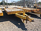 2000 Butler BT3024W 12-Ton T/A Tilt Top Tagalong Equipment Trailer