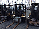 2000 Caterpillar DP35KD Pneumatic Tired Forklift