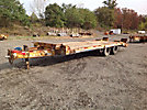 2000 Eager Beaver 10HA 10 Ton T/A Tagalong Equipment Trailer