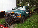 2000 Ford F350 4x4 Flatbed Truck