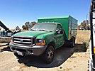 2000 Ford F450 4x4 Chipper Dump Truck