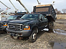 2000 Ford F450 Crew-Cab Flatbed/Dump Truck