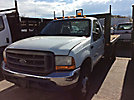 2000 Ford F450 Flatbed Truck