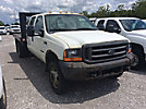 2000 Ford F550 4x4 Crew-Cab Stake Truck