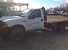 2000 Ford F550 Flatbed Truck