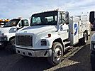 2000 Freightliner FL70 URD/Flatbed Truck