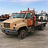 2000 GMC C6500 Flatbed Truck