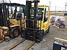 2000 Hyster Cushion Tired Forklift, LPG, shuttle, s/n D177B12074R