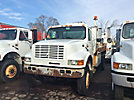 2000 International 4800 4x4 Flatbed Truck