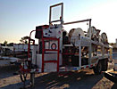 2000 Sherman & Reilly PLW 350-T 4-Drum Pilot Line Winder, diesel, trailer mtd, with reel brakes & hyd level wind,