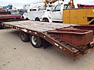 2000 Towmaster T20 10 Ton T/A Tagalong Equipment Trailer