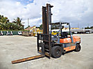 2000 Toyota 02-6FDAU-50 Pneumatic Tired Forklift
