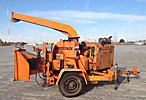 2000 Wood Chuck W/C-17 Chipper (12 Disc), trailer mtd