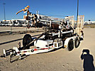 2001 Aerolift rubber tired back yard digger w/ support trailer