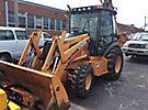 2001 Case 590 Super M 4x4 Tractor Loader Extendahoe