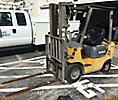 2001 Caterpillar GP18 Solid Tired Forklift