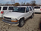 2001 Chevrolet Blazer 4x4 4-Door Sport Utility Vehicle