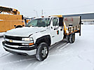 2001 Chevrolet K3500 4x4 Flatbed Truck