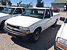 2001 Chevrolet S10 Extended-Cab Pickup Truck