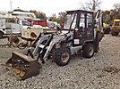2001 Earthforce SSK 4x4x4 Utility Tractor Loader Backhoe