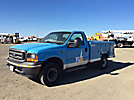2001 Ford F250 4x4 Enclosed Service Truck