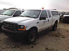 2001 Ford F350 4x4 Extended-Cab Pickup Truck