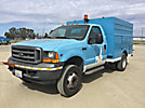 2001 Ford F450 Enclosed Service Truck