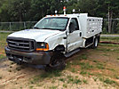 2001 Ford F550 Flatbed Truck