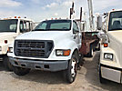 2001 Ford F650 Flatbed Truck