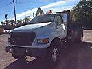 2001 Ford F750 Van Body Truck