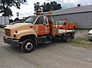 2001 GMC C5500 Flatbed Truck