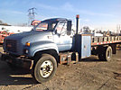 2001 GMC C7500 Flatbed/Utility Truck
