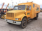 2001 International 4700 Chipper Dump Truck