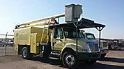 2001 International 4700 Chipper Dump Truck