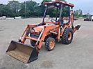 2001 Kubota B21 4x4 Mini Tractor Loader Backhoe