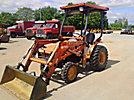 2001 Kubota B21 4x4 Utility Tractor Loader
