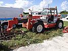 2001 Manitou MT1645, 6,000# Rough Terrain Telescopic Boom Forklift