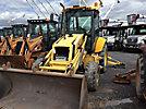 2001 New Holland LB110-B 4x4 Tractor Loader Extendahoe