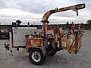 2001 Performance First Brush Bandit 200+ XP Chipper (12 Disc), trailer mtd