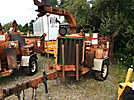 2001 Performance First Brush Bandit 200+XP Chipper (12 Disc), trailer mtd